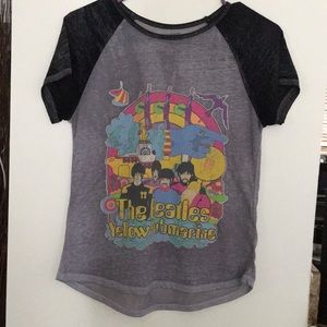 "Girls "" The Beatles Yellow Submarine "" Shirt"